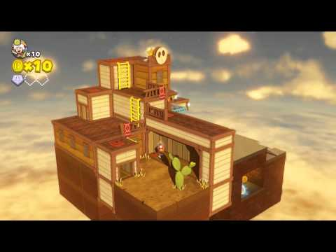 Captain Toad: Treasure Tracker - Part 5 - Playthrough/Gameplay - (Nintendo Wii U) HD