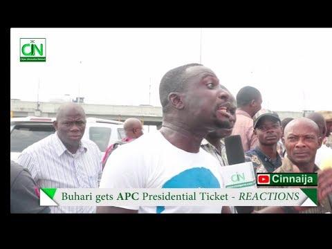 NIGERIA ERUPTS AS BUHARI EMERGE APC 2019 PRESIDENTIAL CANDIDATE