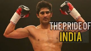 The Pride of INDIA - Vijender Singh boxing knockouts 2019