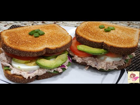 Featured Recipe No-Mayo Tuna Salad