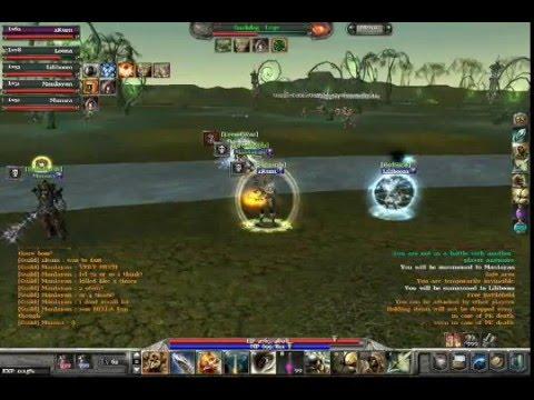Archlord – pvp vs lv72 sorcs