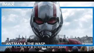 Ant-Man & the Wasp in IMAX® at Science North