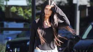 Kourtney Kardashian Visits Kanye After Kris Jenner's Dramatic Breakup With Corey Gamble