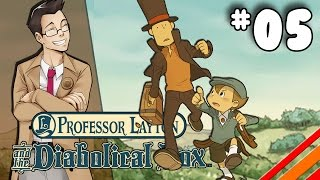 """Professor Layton and the Diabolical Box   """"Pit Stop""""   Part 5"""