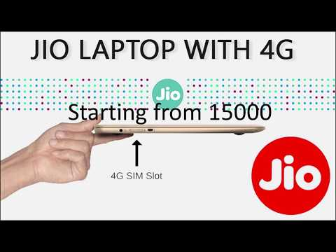 Reliance jio 4G laptop with sim slot and best price just like apple macbook