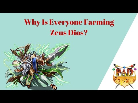 Why Is Everyone You Know Farming Zeus Dios?