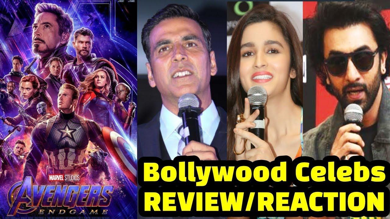 Download Bollywood Celebs REVIEW On Avengers Endgame | Akshay Kumar | Ranbir Kapoor | Alia Bhatt