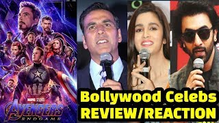 Bollywood Celebs REVIEW On Avengers Endgame | Akshay Kumar | Ranbir Kapoor | Alia Bhatt