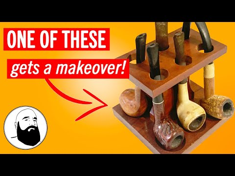 Vintage Pipe Restoration - Cleaning Tobacco Ash build up and Ghosting