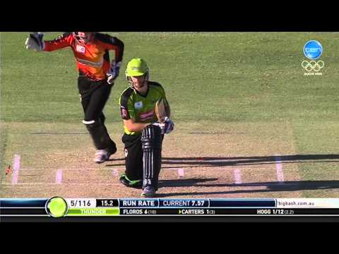 Perth Scorchers vs Sydney Thunder Match Highlights
