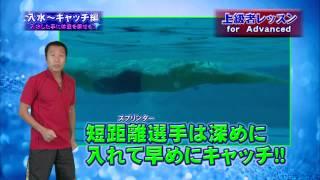 Repeat youtube video 最先端泳法『フラットスイム』でクロールがきれいに速く泳げる! DVD内容