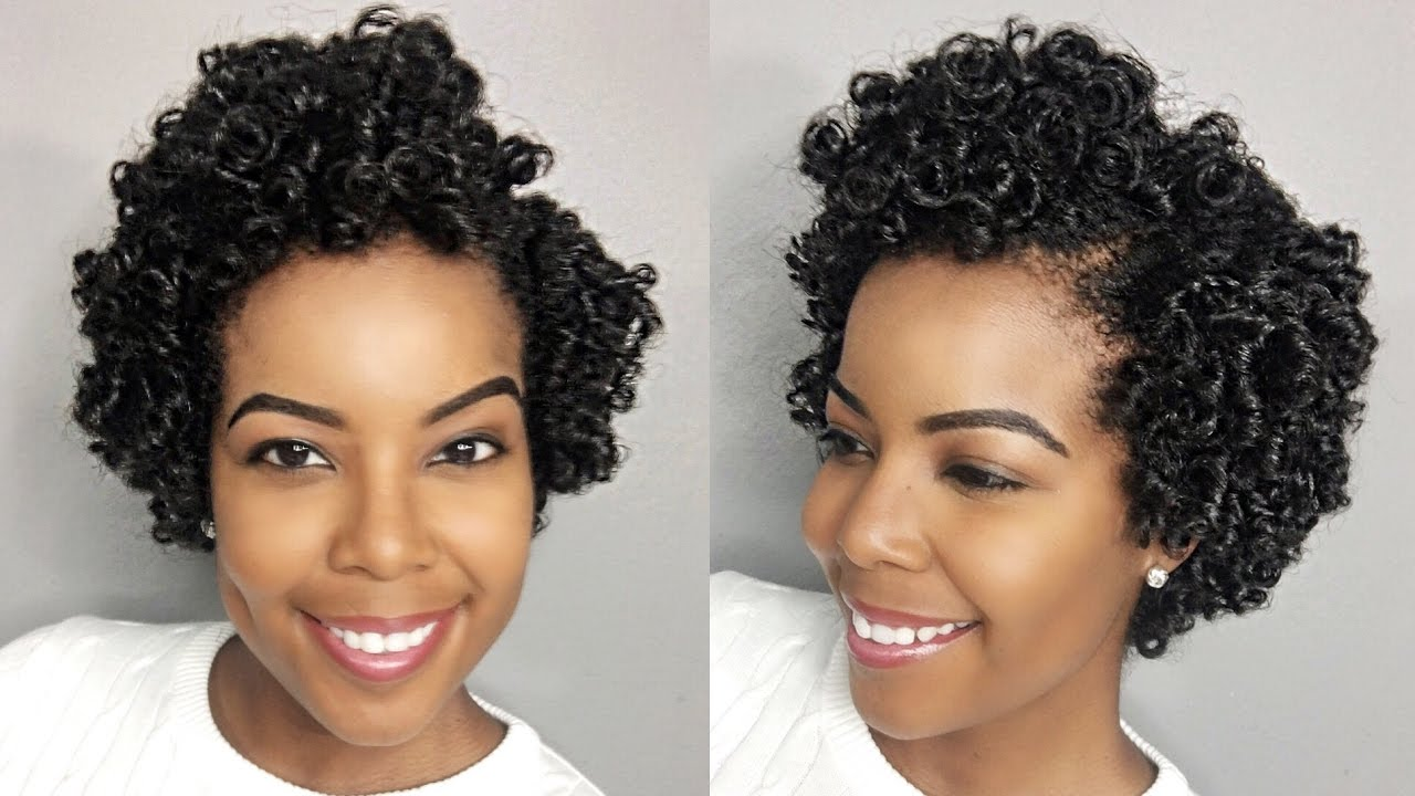 how to: perm rod set on natural hair
