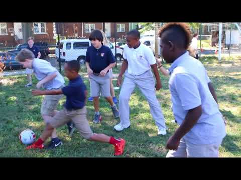 2017 Washington Latin PCS Middle School  Recess