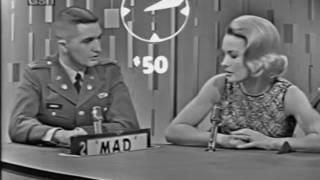 PASSWORD 1963-01-20 Dina Merrill & Anthony Perkins