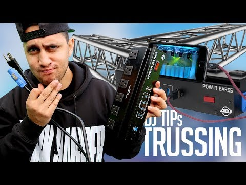 Mobile DJ Tips: Customizing My TRUSSING (Speed-up Setup & Breakdown)  | How To Pre-Wire Equipment