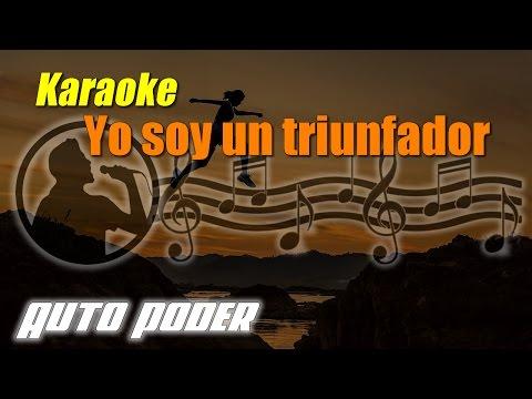 Yo soy un triunfador - Karaoke - www.ritmopositivo.com