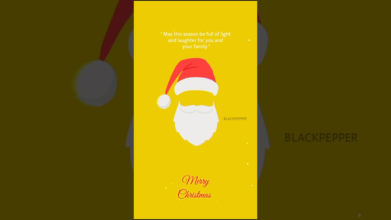 Christmas whatsapp status | remix | Guppy effect