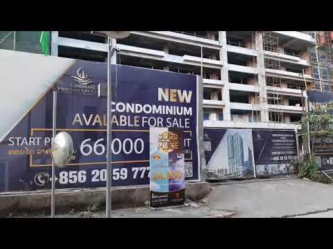 Vientiane Update: New Building being built near Veintiane Center //Vte Laos 2020 // Annasor moTour