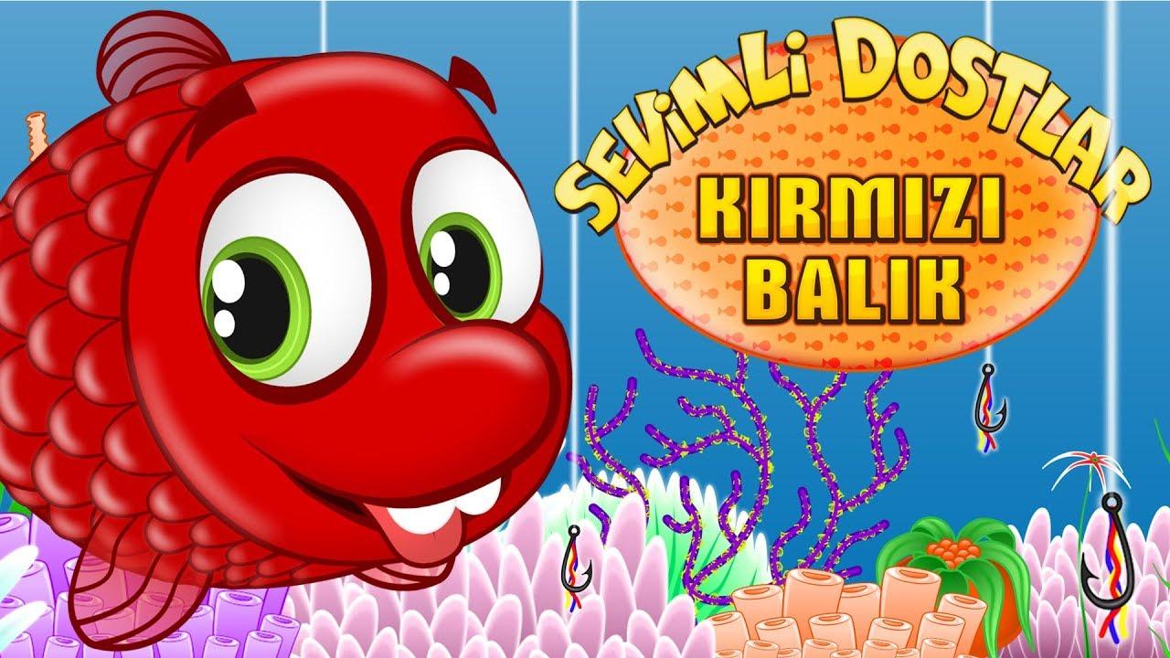 Kırmızı Balık Oyunu | Sevimli Dostlar Çocuk Şarkıları | Adisebaba TV