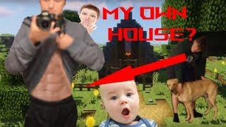 I Spent the Night in My Own House & Nobody Knew... (24 Hour Challenge) (MORGS PARODY)
