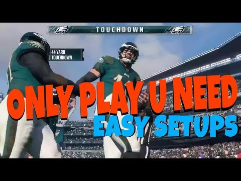 1 PLAY FOR ANY SITUATION! EVERYONE GETS OPEN PASS MONEY PLAY GLITCH! BEST RUN SETUP IN MADDEN 18