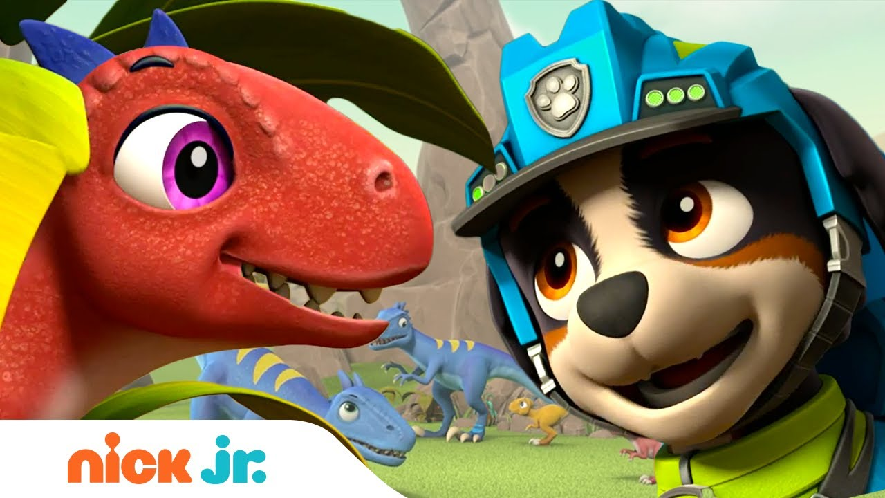 Download PAW Patrol Pups Rex & Zuma Save Baby Dino Raptors!   Nick Jr.
