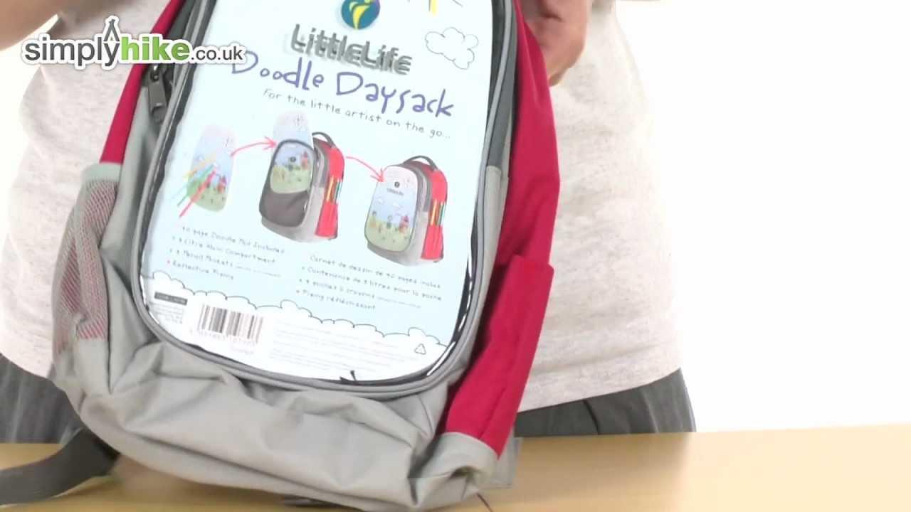 13449e0a2c29 LittleLife Doodle Daysack - www.simplyhike.co.uk