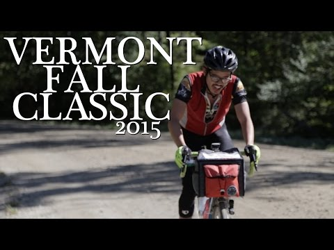 Vermont Fall Classic 2015 Dirt Road Cycling Populair