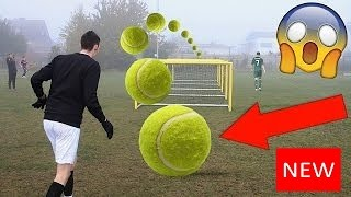 ⚽⚽ EXTREME TENNIS FOOTBALL CHALLENGES VS BRO!!!! ⚽⚽