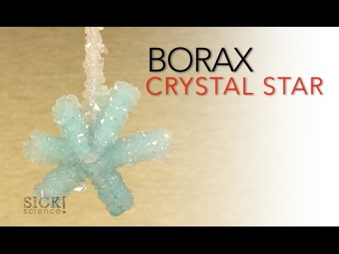 Borax Crystal Star - Sick Science! #066