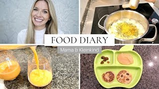 FOOD DIARY | Einfache & gesunde Rezeptideen | What I eat in a day Deutsch | MamaBabyLiebe