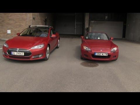 Race #3: Tesla Model S P85 vs Honda S2000