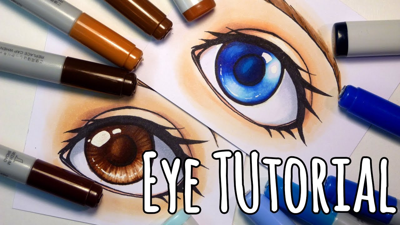 How to properly dye the eyes