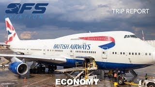 TRIP REPORT | British Airways - 747 400 - New York (JFK) to London (LHR) | Economy