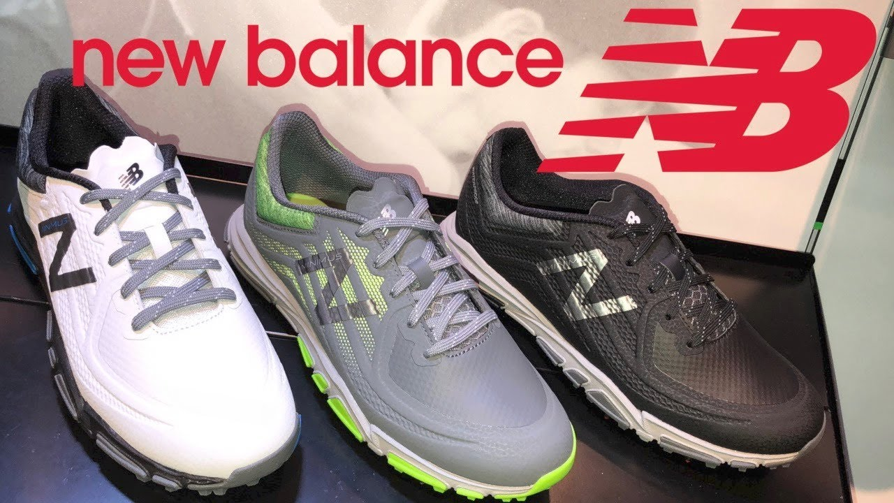 Golf Spotlight 2018 - New Balance Minimus Tour - YouTube 8d94e63a2fa