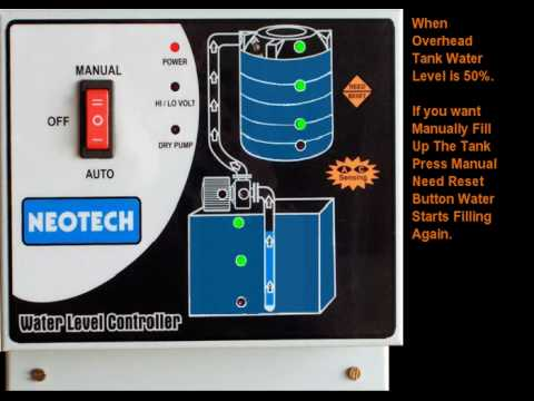 hqdefault neotech automatic water level controller youtube ellico water level controller wiring diagram at fashall.co