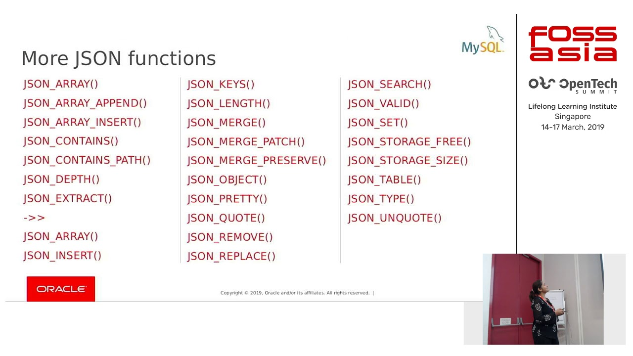 Using JSON in MySQL to get the best of both worlds (JSON + SQL) by Chaithra  Gopalareddy