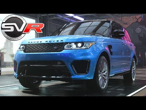 Need For Speed Heat - Range Rover SVR - Customization, Review, Top Speed