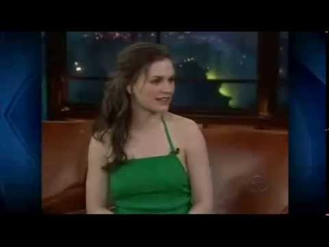 Anna Paquin on the Late Late Show - Part 1