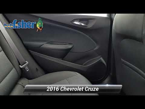 Used 2016 Chevrolet Cruze LT, Reading, PA 7202Z