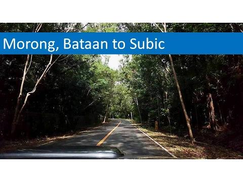 Morong, Bataan to Subic