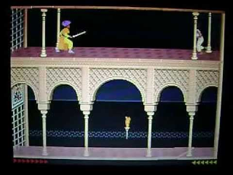 Prince of Persia, PC, 1990, COMPLETADO, Jordan Mechner, PoP, End, guia,VIDEOGAME