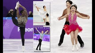 FEMAIL reveals the best dressed Olympic figure skaters