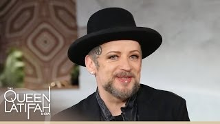 Boy George Gets Personal on The Queen Latifah Show