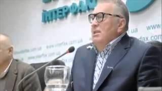 Жириновского закидали капустой