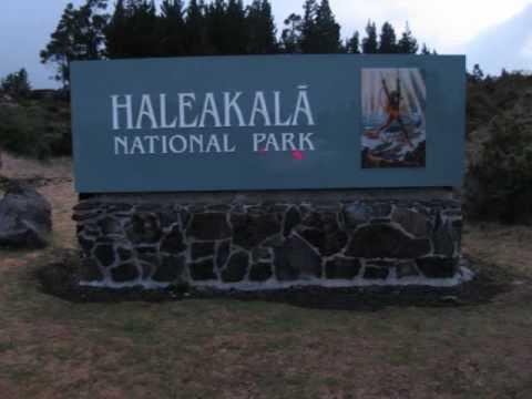 Haleakala National Park & Crater Maui Hawaii