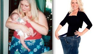 My 150 pound weight loss transformation secret with Before & After- Glow