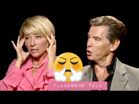 """It's fucking my Life Up"" Emma Thompson And Pierce Brosnan Attack Beauty Standards In Hollywood"