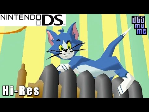 Tom and Jerry Tales - Nintendo DS Gameplay High Resolution (DeSmuME)