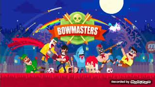 Bowmaster competition with computer winning challe...